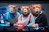 "2015 Kia Soul EV Hamster Commercial Featuring ""Animals"" by Maroon 5 – MTV VMAs"
