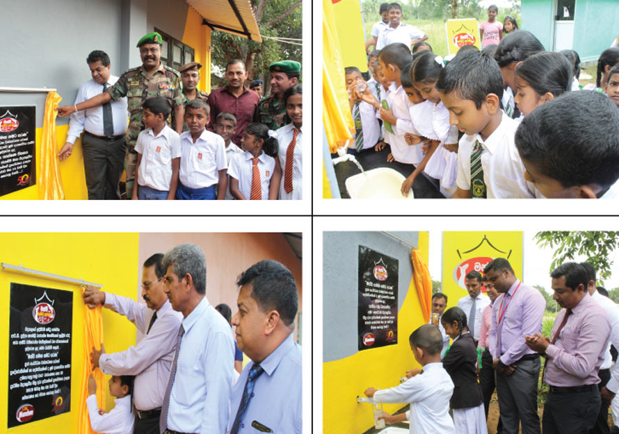 Munchee Samaga Gamata Sarana Community Work Projects by Ceylon Biscuits Gathers more Momentum