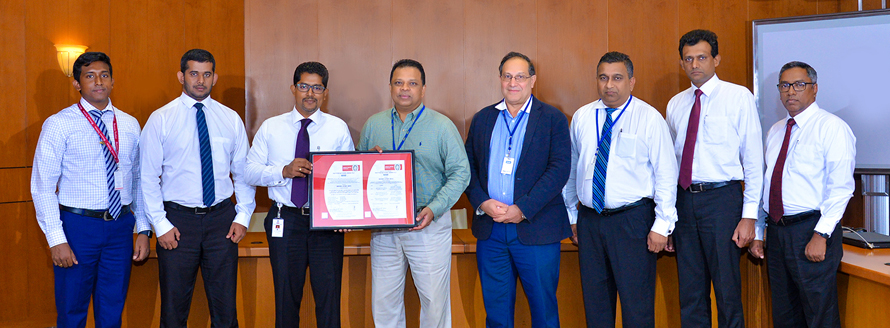 HNB Enhances Security to global best practices with ISO 27001 2013 certification