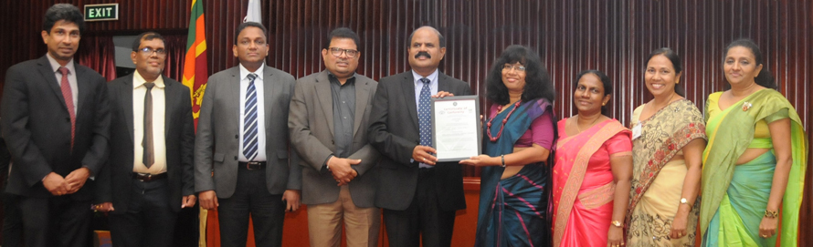 SLT the first ICT Digital Service Provider in Sri Lanka to achieve ISO 9001 2015 QMS certification
