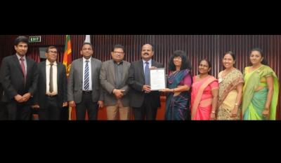 SLT, the first ICT Digital Service Provider in Sri Lanka to achieve ISO 9001:2015 QMS certification
