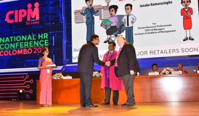 Janaka Kumarasinghe Launches First Ever Cartoon Book on HR