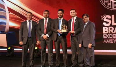 Lankasoy bags Gold at SLIM Brand Excellence Awards 2019