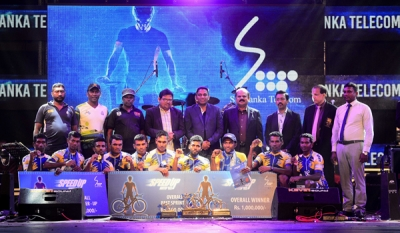 "Country's longest cycle race ""SLT Speedup sawariya 2019"" concluded successfully in Dambulla"
