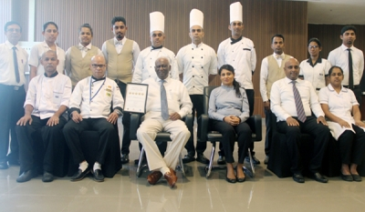 Nawaloka Hospitals awarded 5th consecutive 5 Crown Award for Food Hygiene