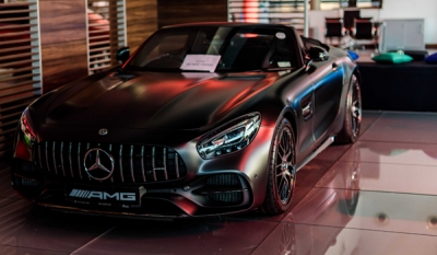 DIMO hosts The Mercedes-AMG e-Driving Experience