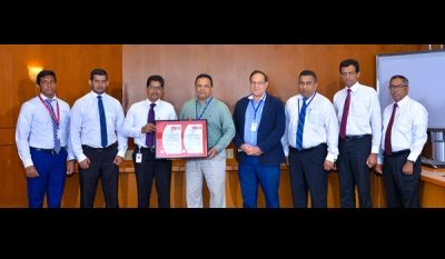 HNB Enhances Security to global best practices with ISO 27001:2013 certification